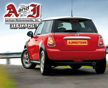 Mini Cooper Mechanic is Tampa AJ Motors Phone 1-813-977-1214